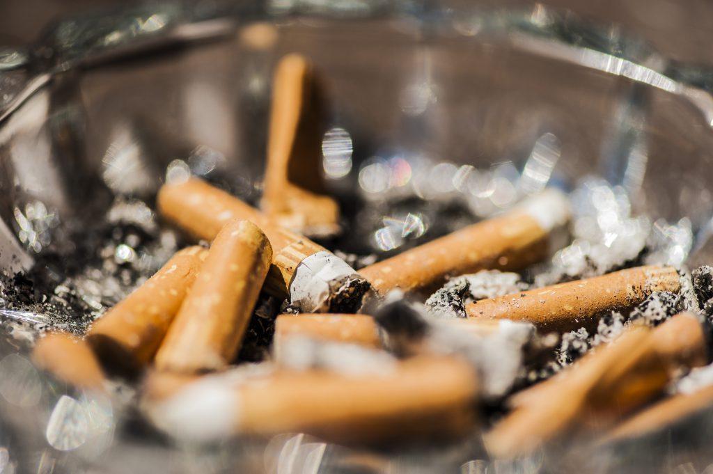 Stinky Cigarette Ashtray